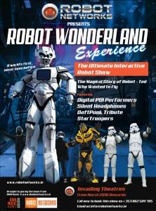 RobotNetworks demo poster Wonderland experience03