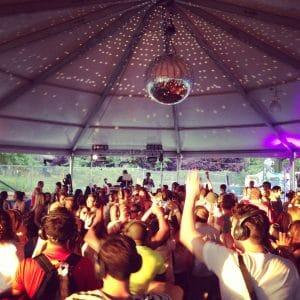 hire silent disco festival