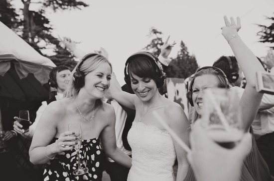 silent disco wedding ireland
