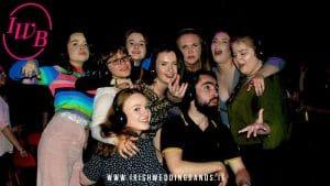 Irish wedding bands silent disco
