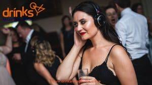drinks reception music silent Disco