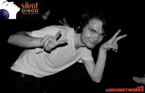 silent disco Ireland parties audionetworks Ireland party event