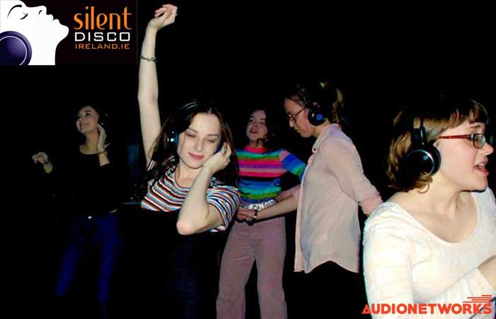 silent disco audionetworks Ireland events