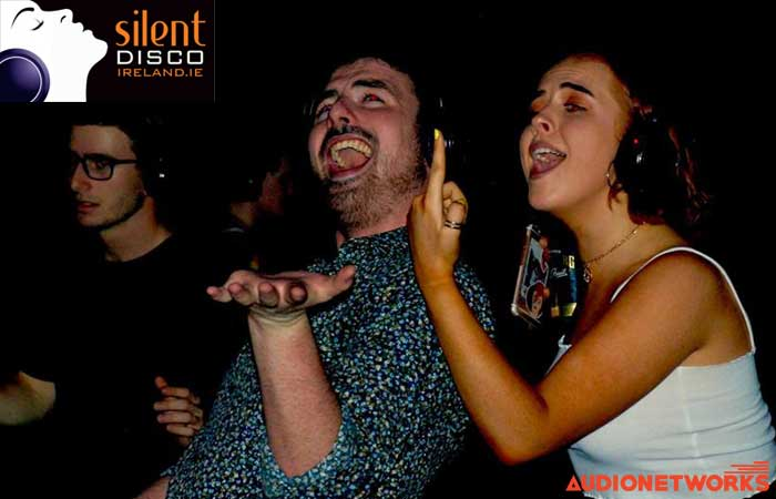 silent disco parties audionetworks Ireland