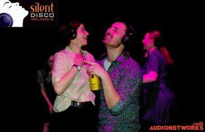 silent disco parties audionetworks Ireland Silent headphone