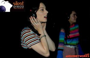 silent disco parties audionetworks Ireland events Silent headphone